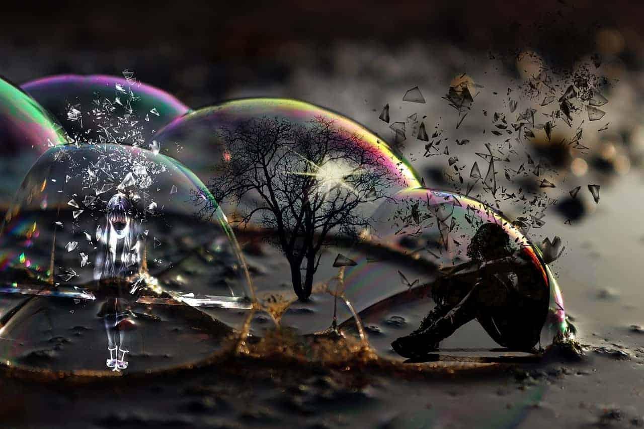 fear person bubble