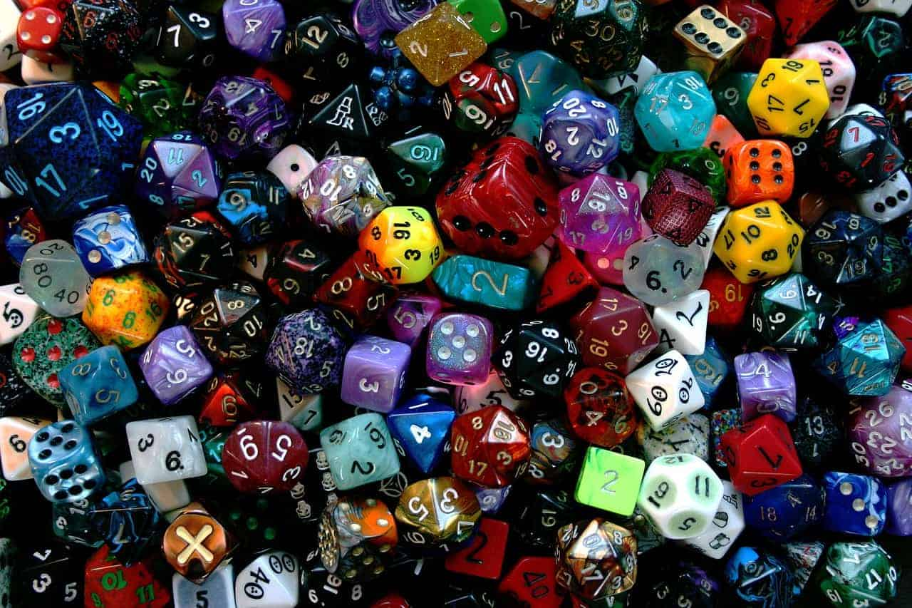 dice numbers