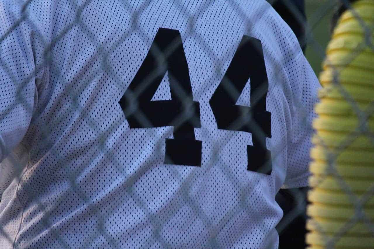 number 44 jersey
