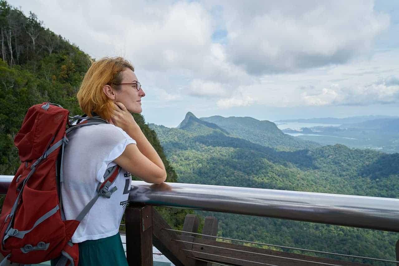 pursuing passion woman travel