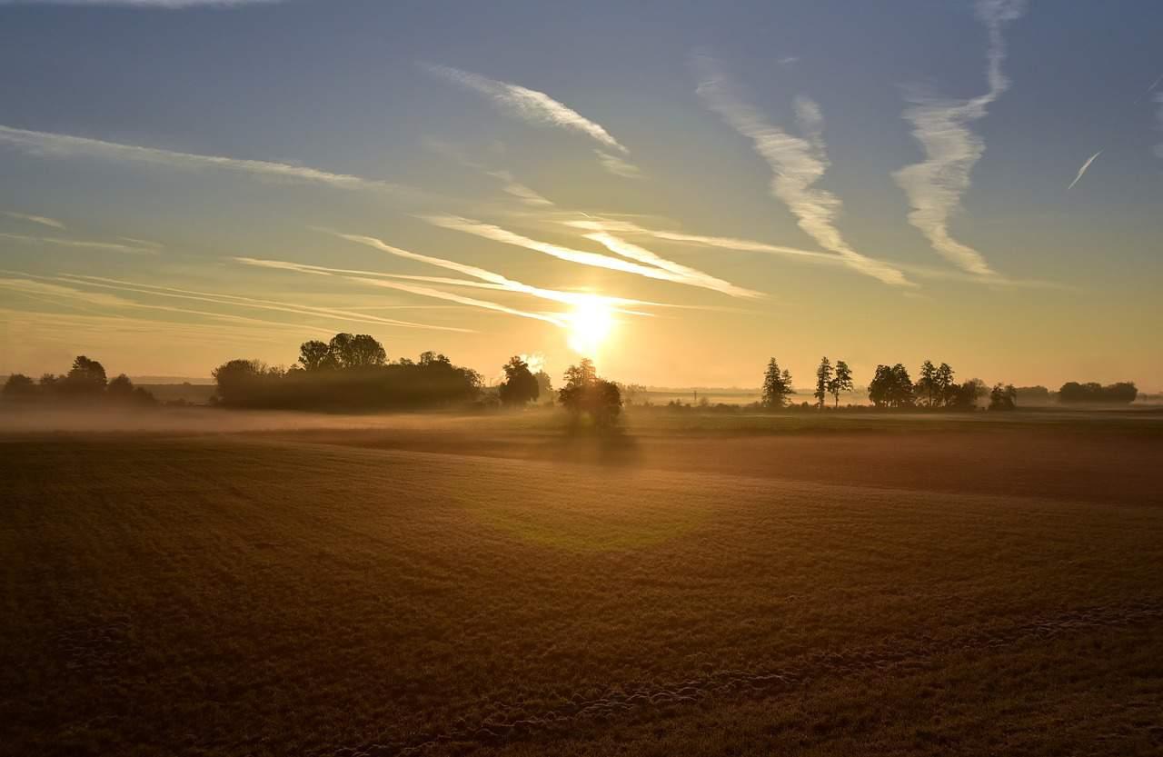 sunrise new beginning