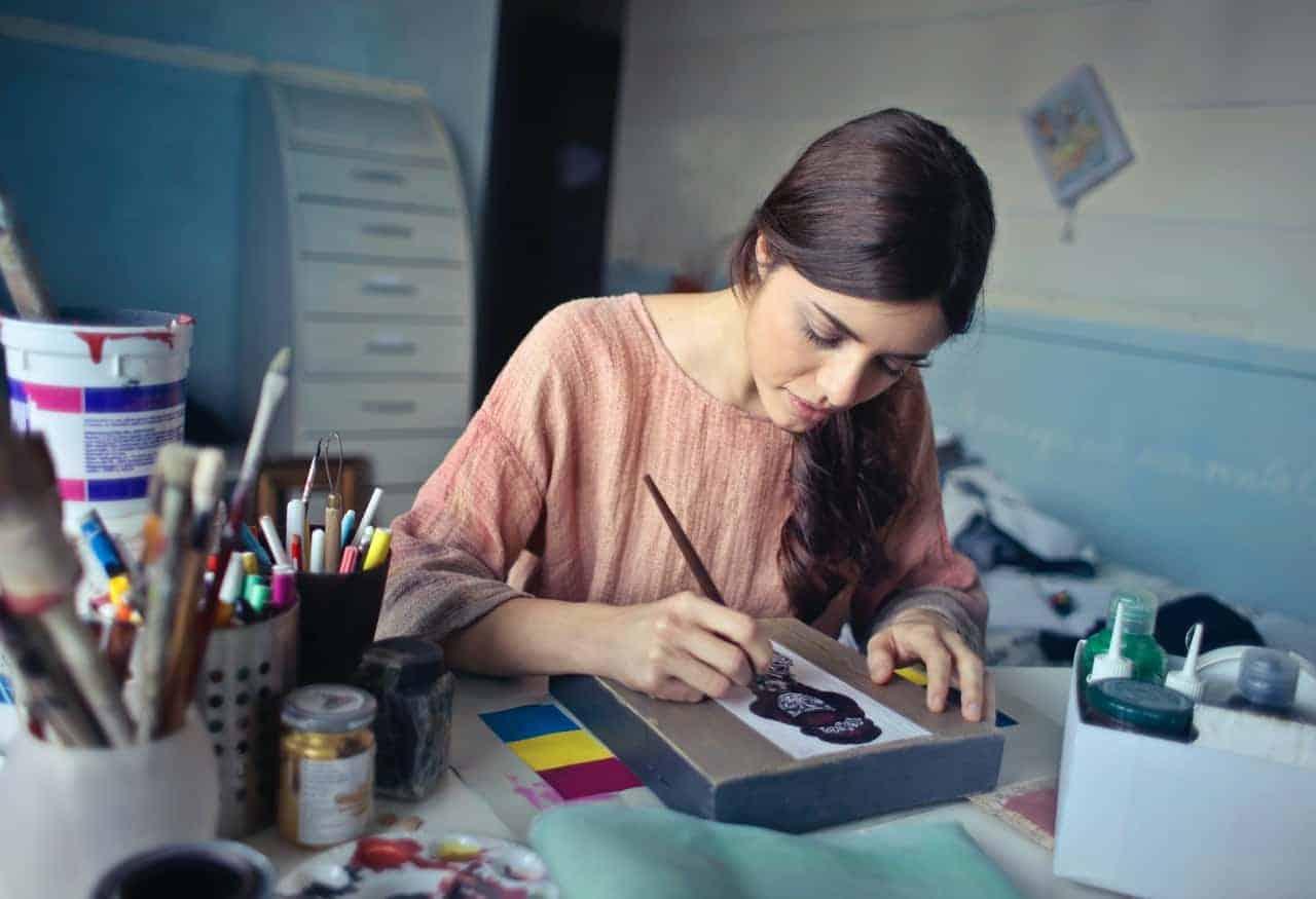 woman creativity