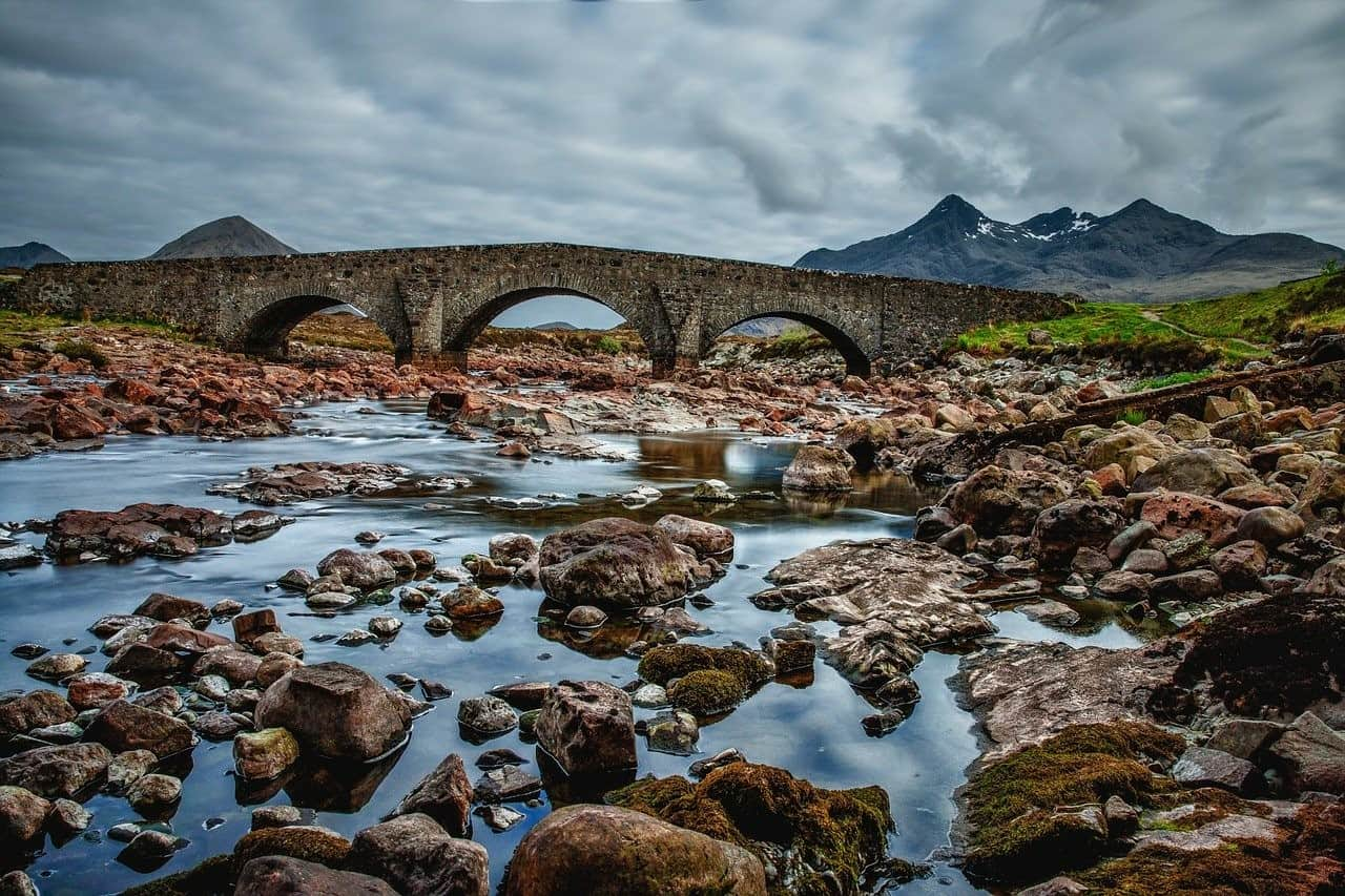bridge troubled waters