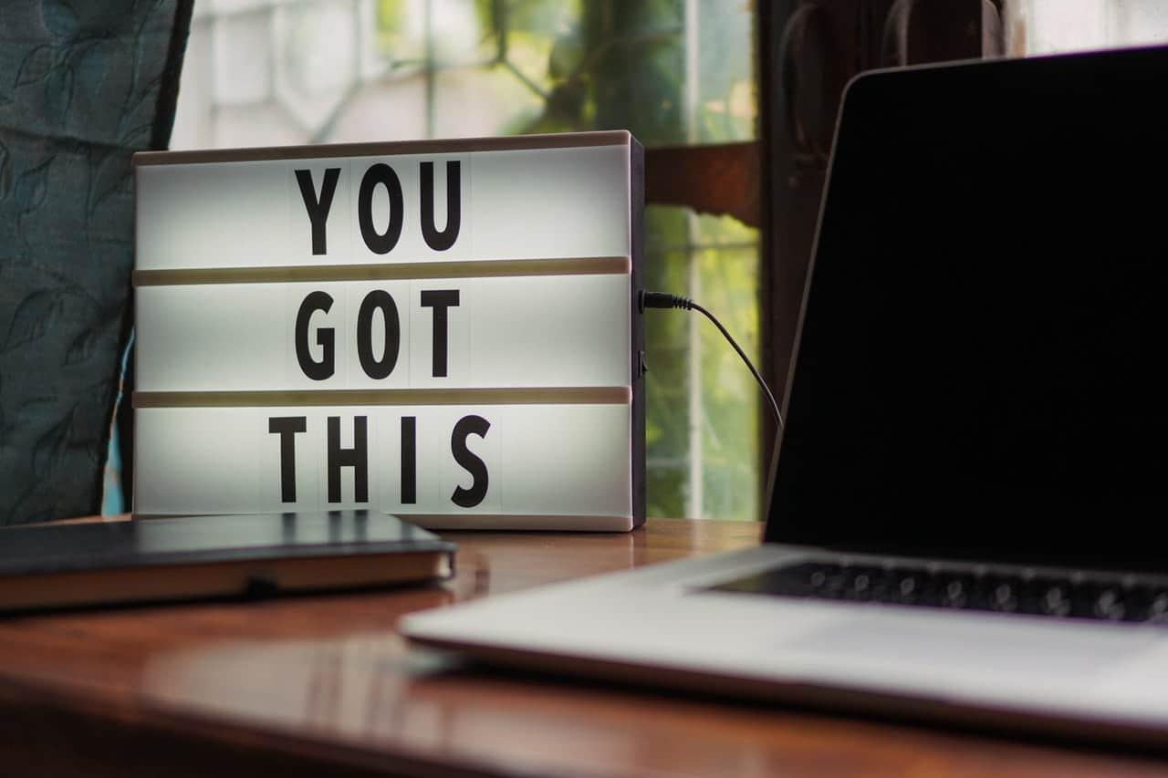encouragement words