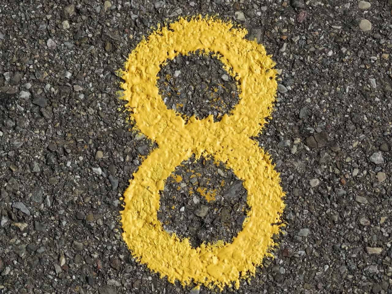 number 8 asphalt