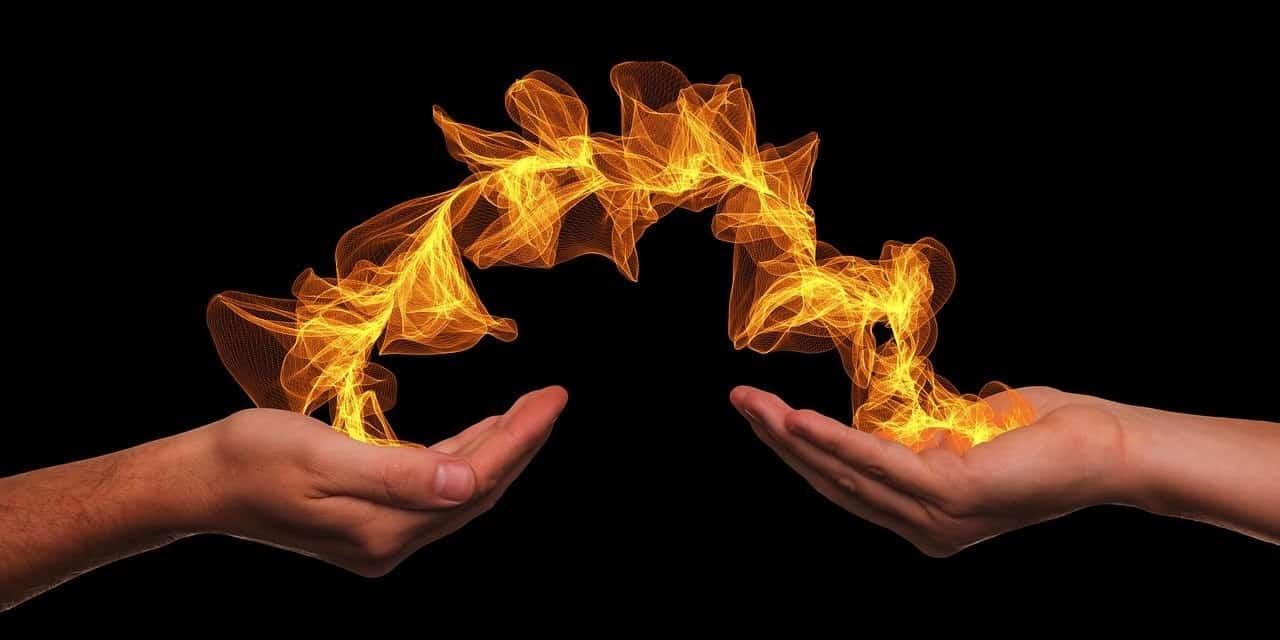 pranic healing hands flame