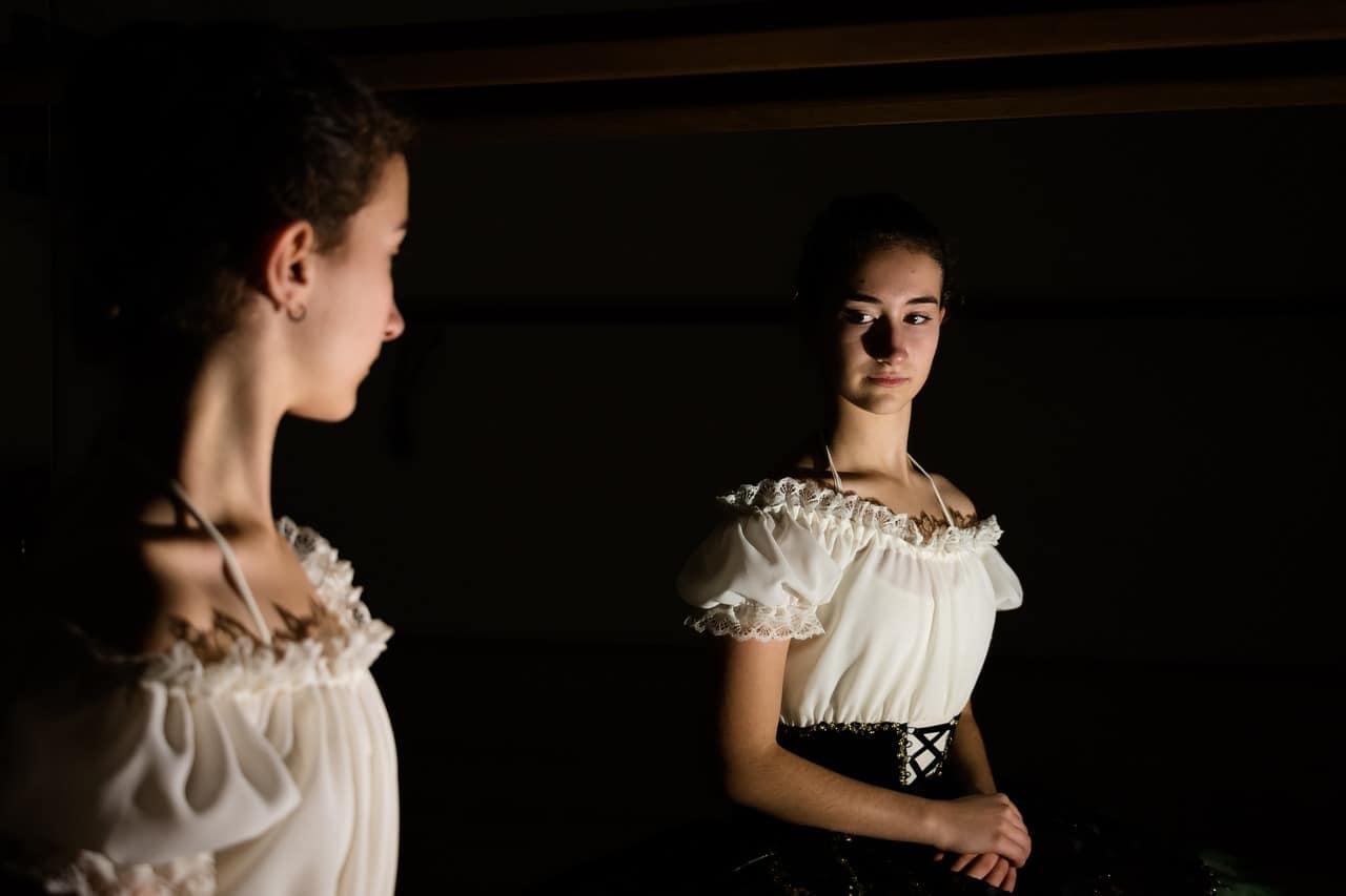 confidence ballerina woman