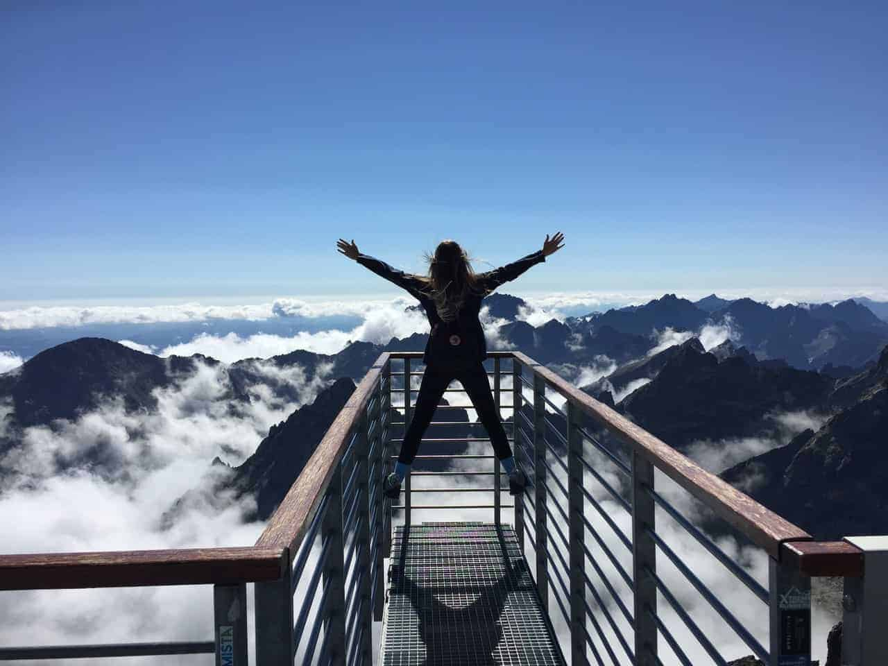 higher purpose woman mountains