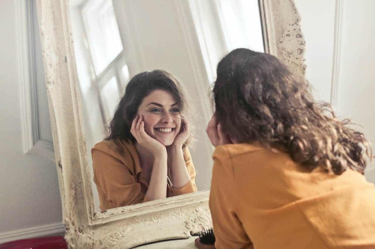 trusting self mirror