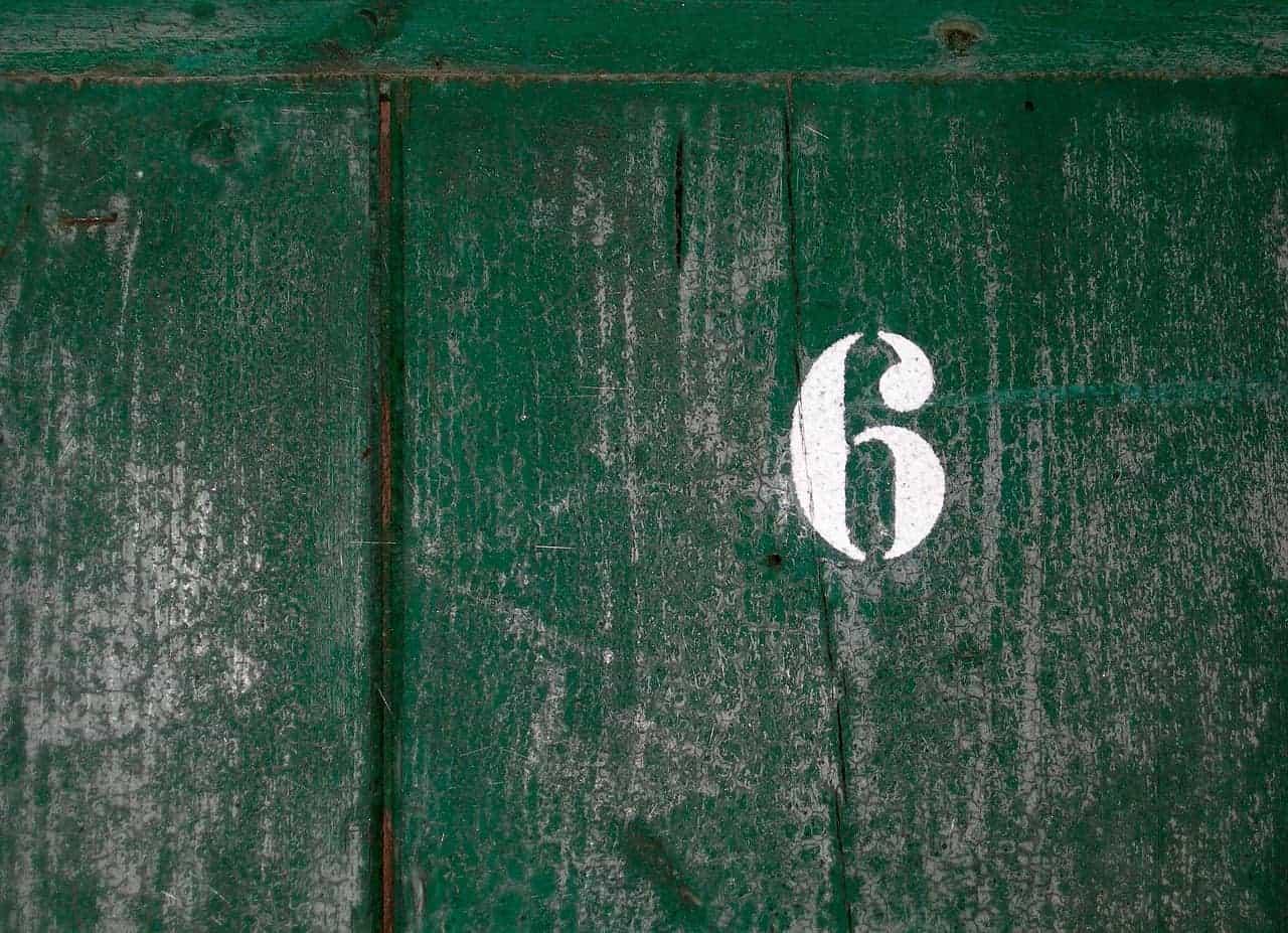 number six wood