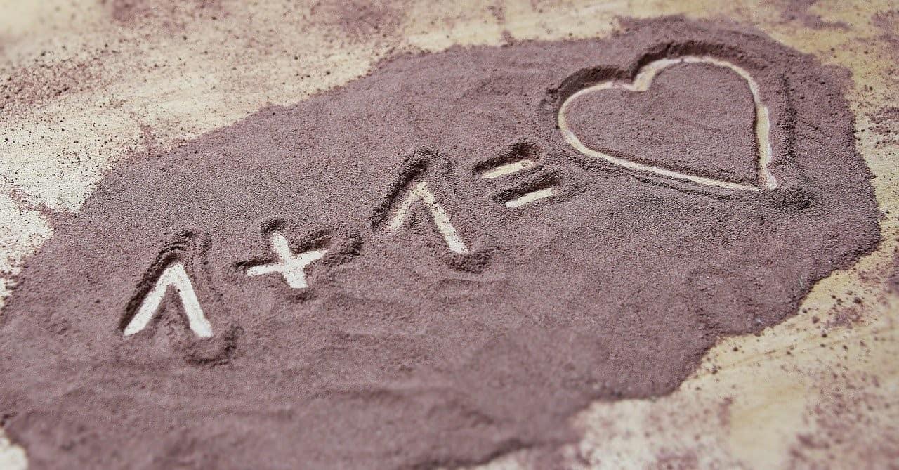 sand heart symbols