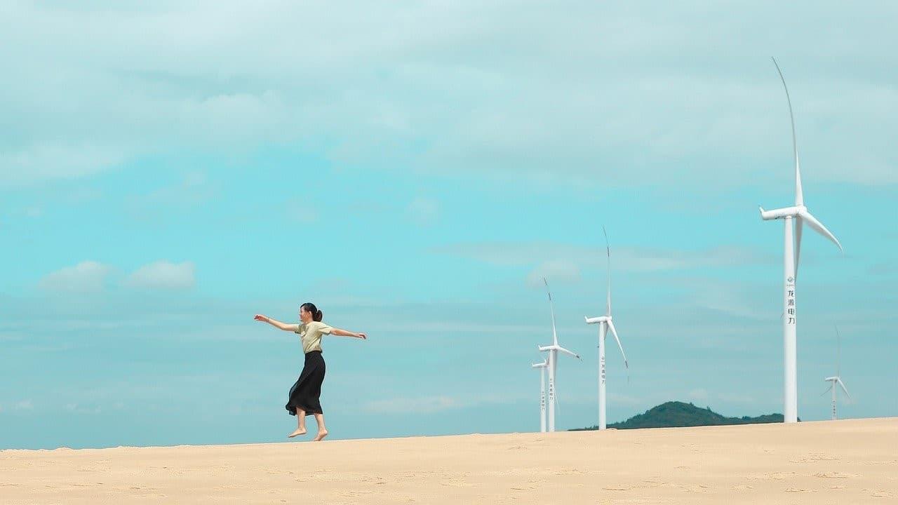 woman dancing bliss