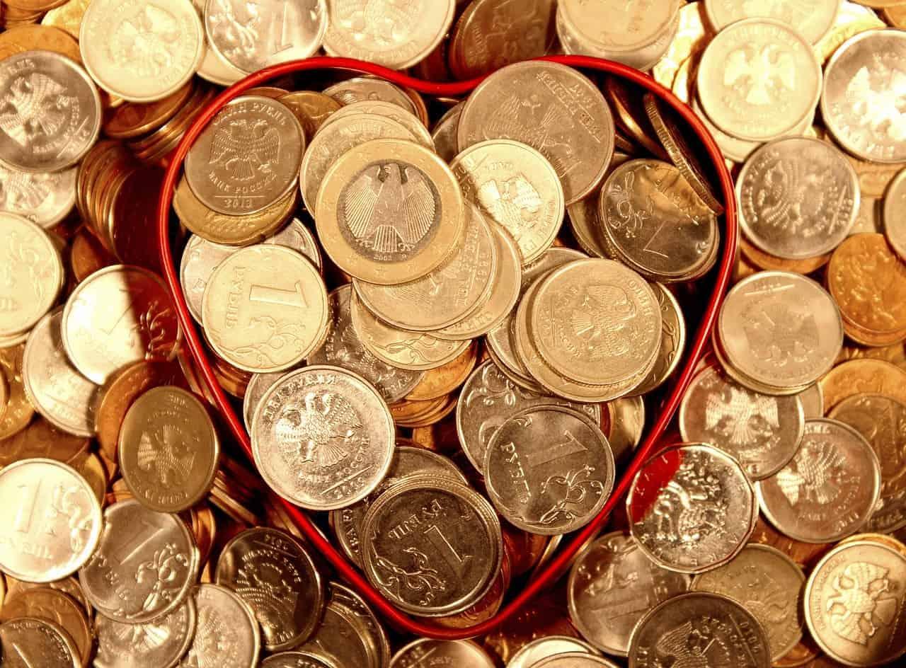 abundance container money