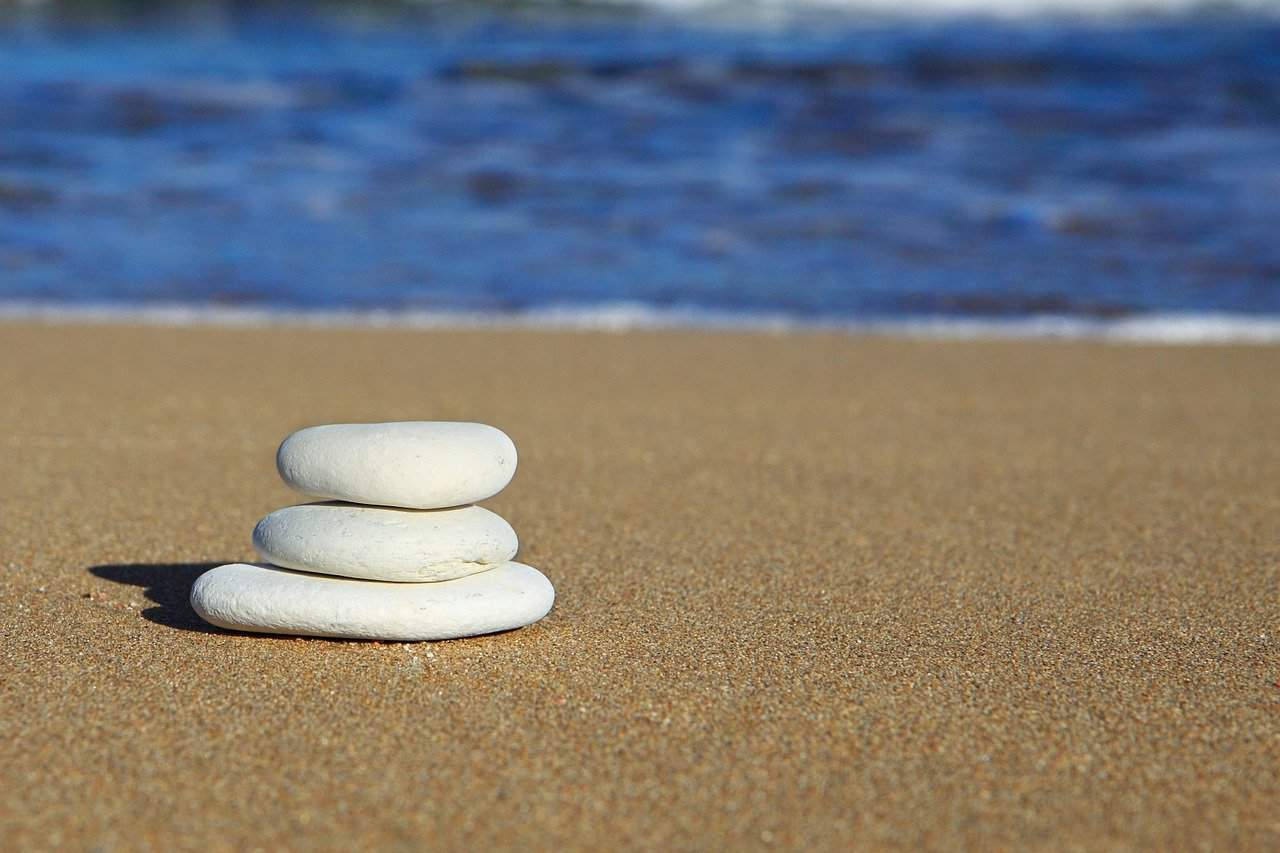 balance beach life