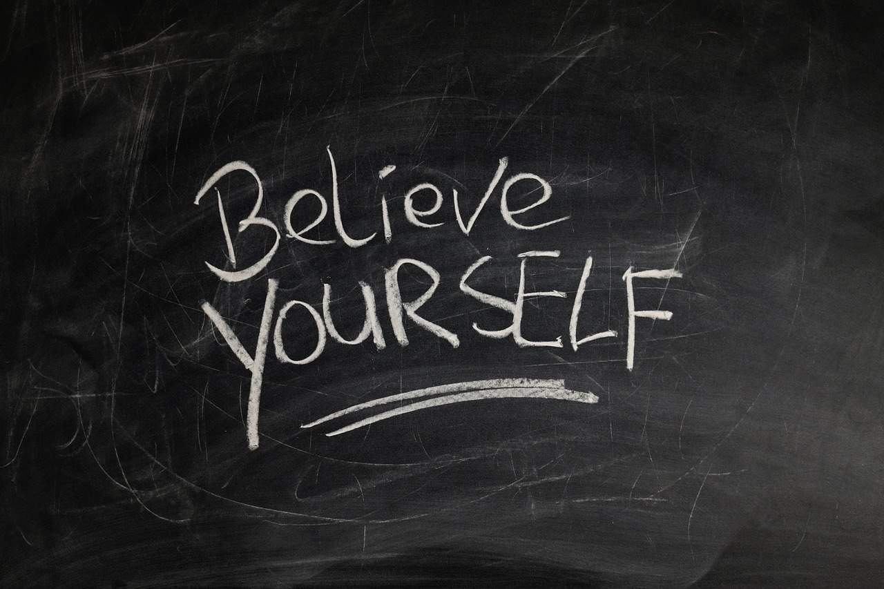 believe yourself writing