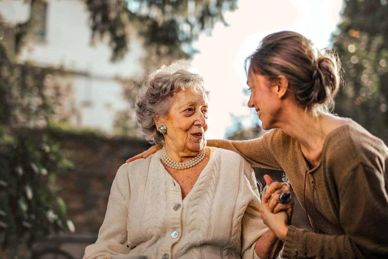 helping others joyful women