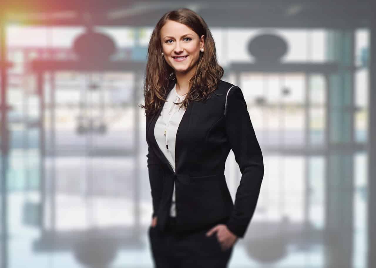 confident successful woman