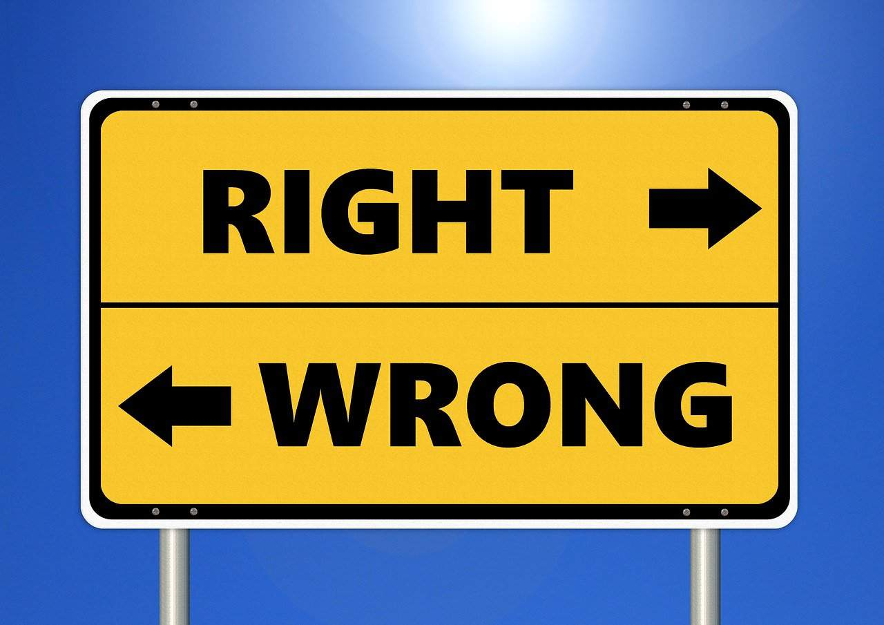decision making right wrong