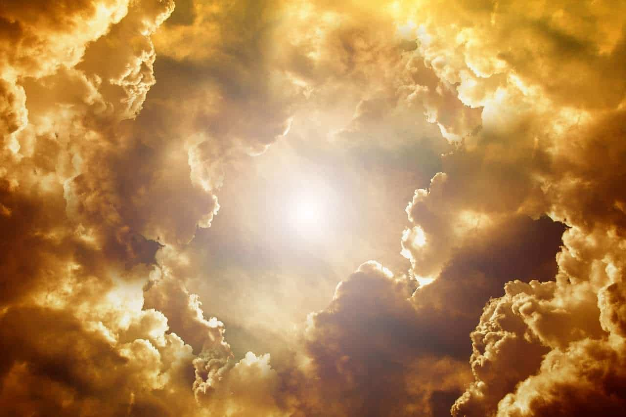 divine heavens clouds