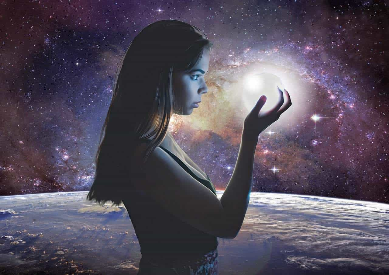 dream holding universe