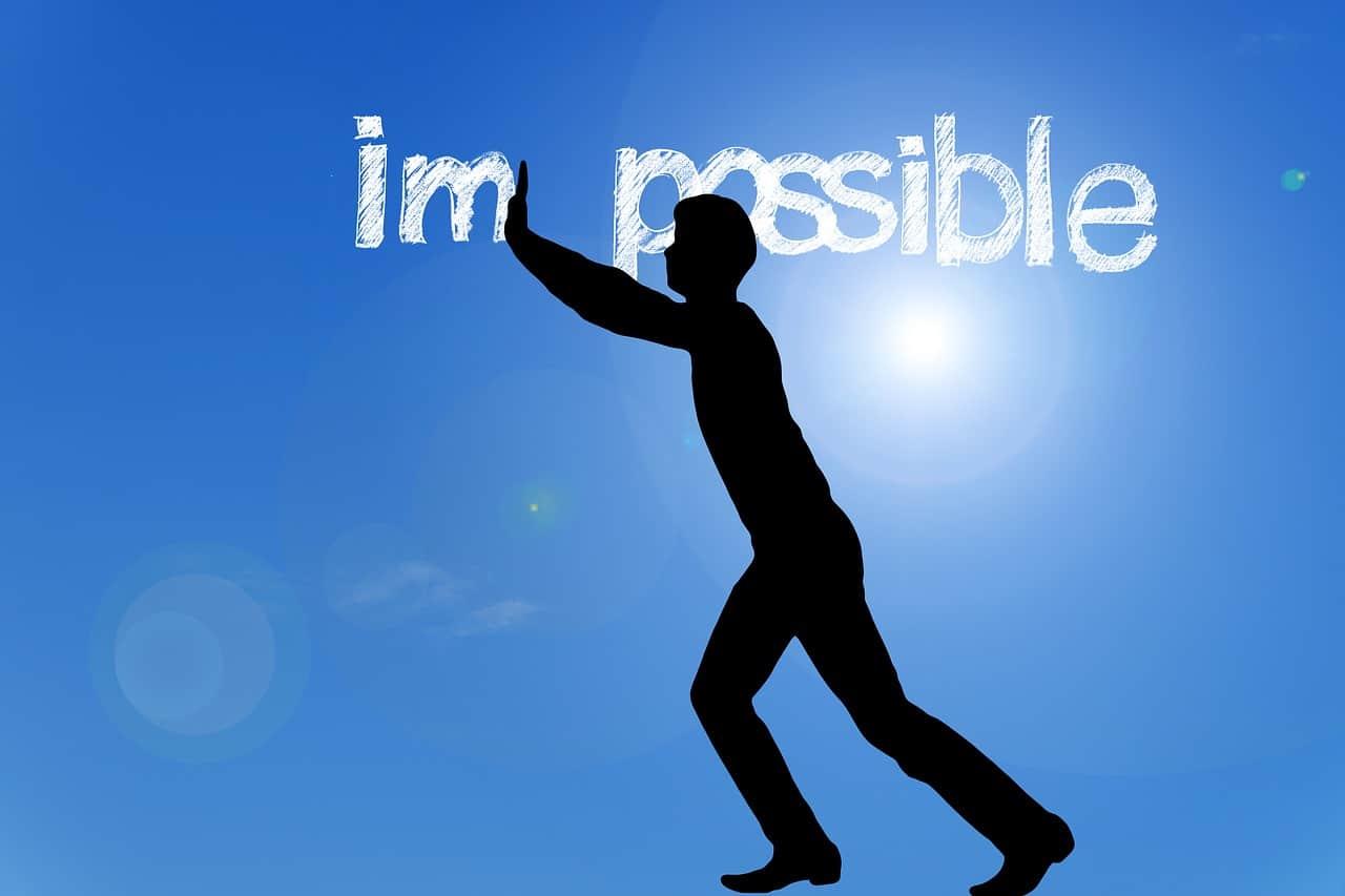 optimism silhouette person