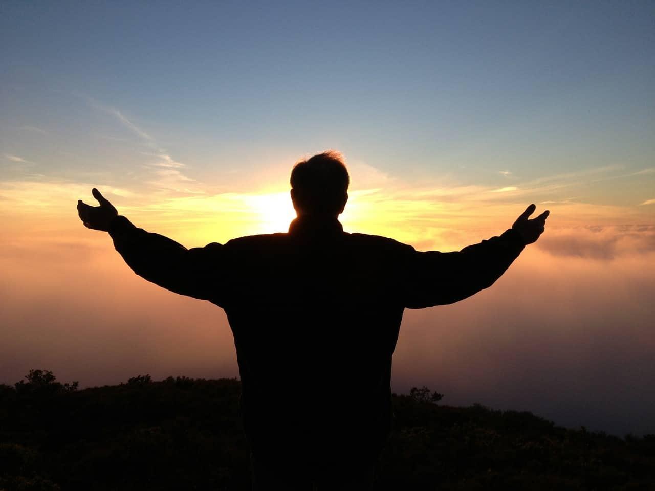 spiritual awakening person