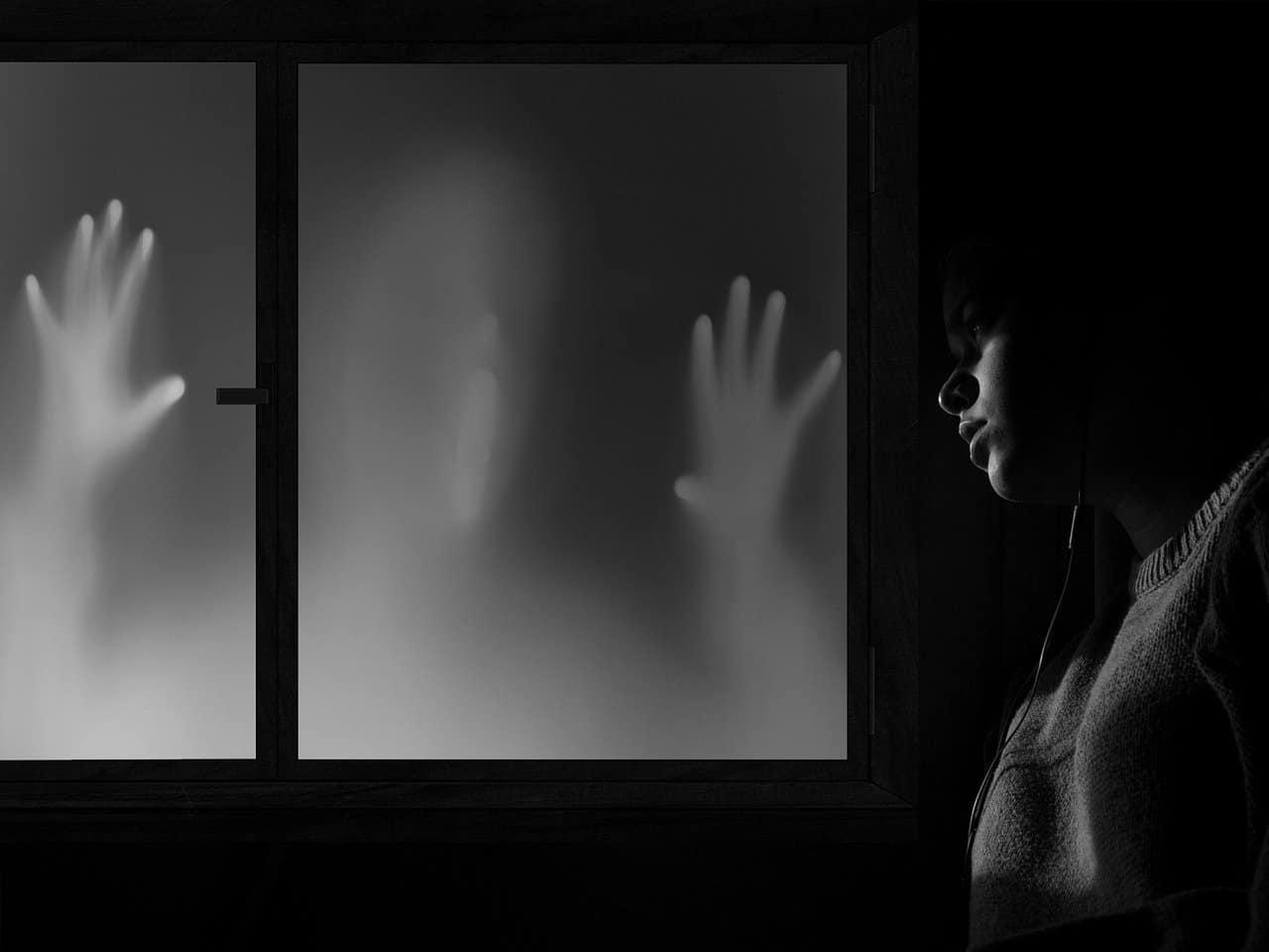 facing fear woman
