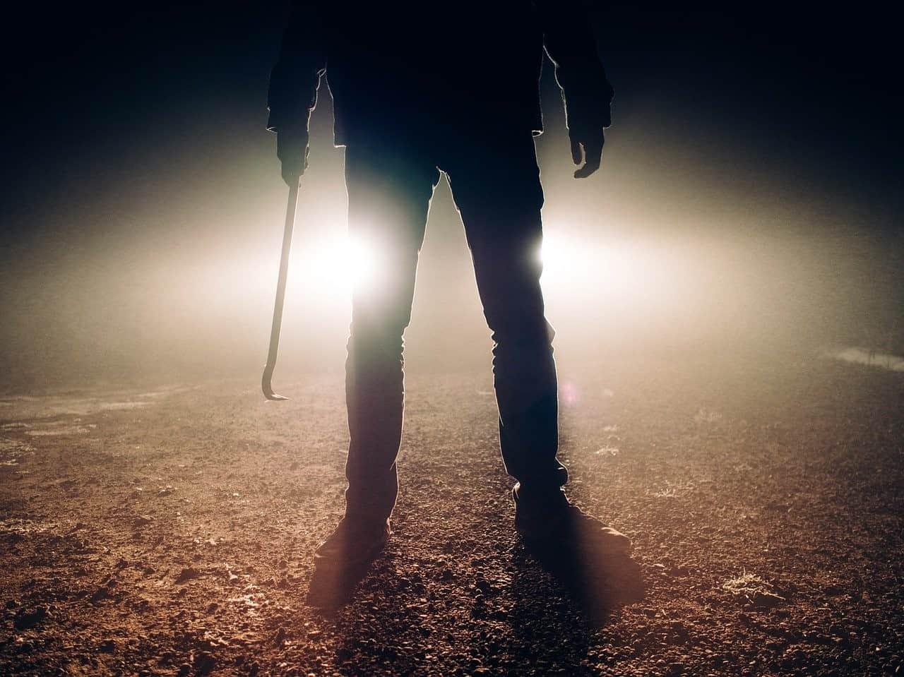 lights silhouette killer