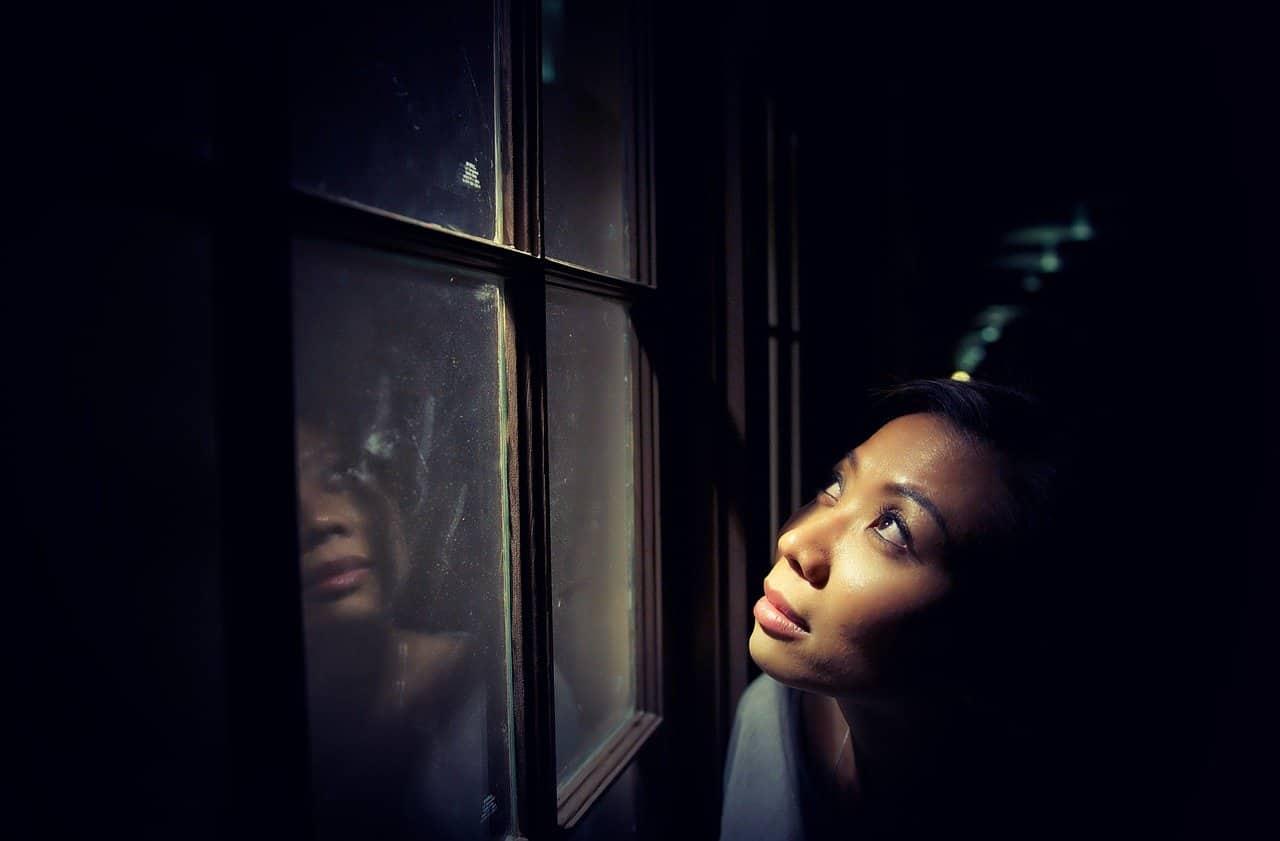 setting limits woman window