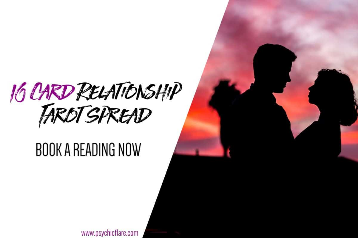 10 Card Relationship Tarot Spread - Book a Reading Now