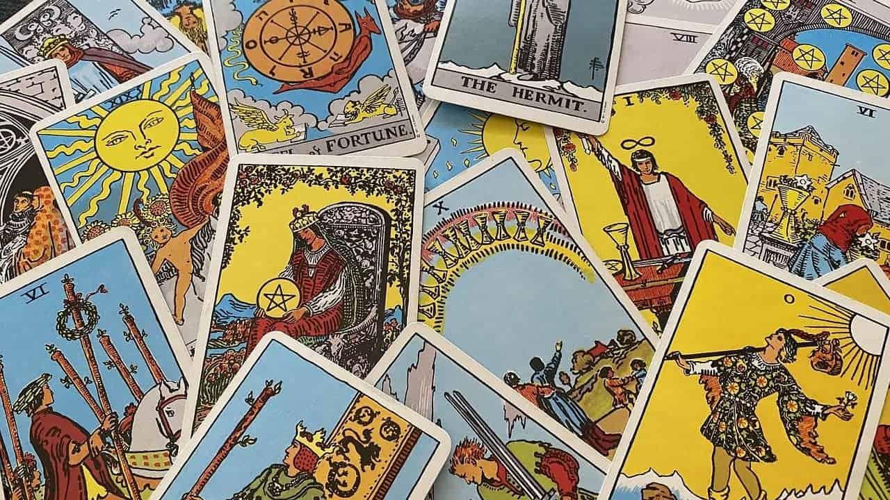 artistic tarot cards