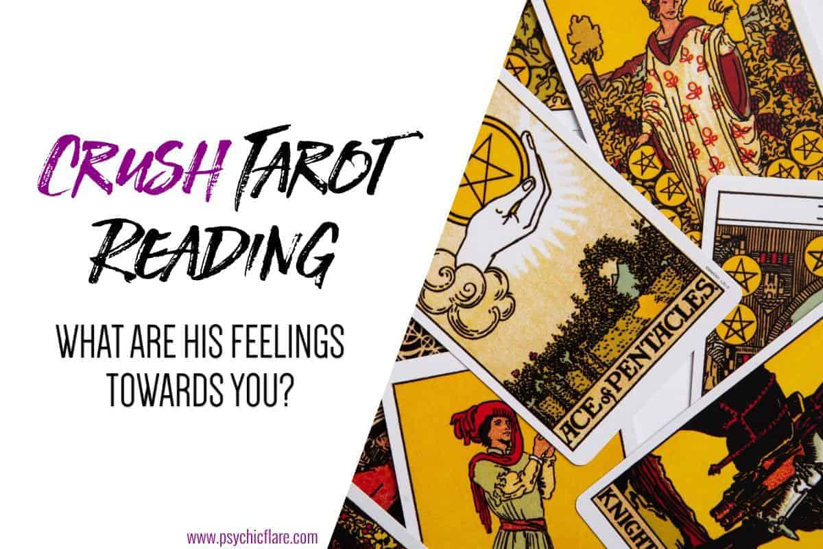 Crush Tarot Reading - What Are His Feeling Towards You