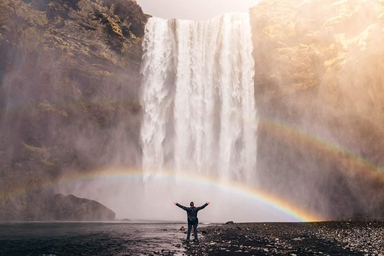 staying positive rainbow