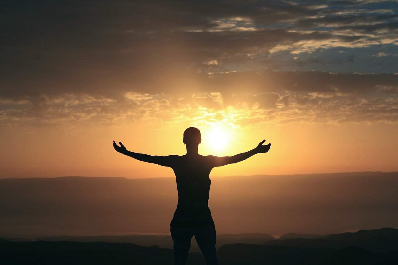 feeling blessed sunrise