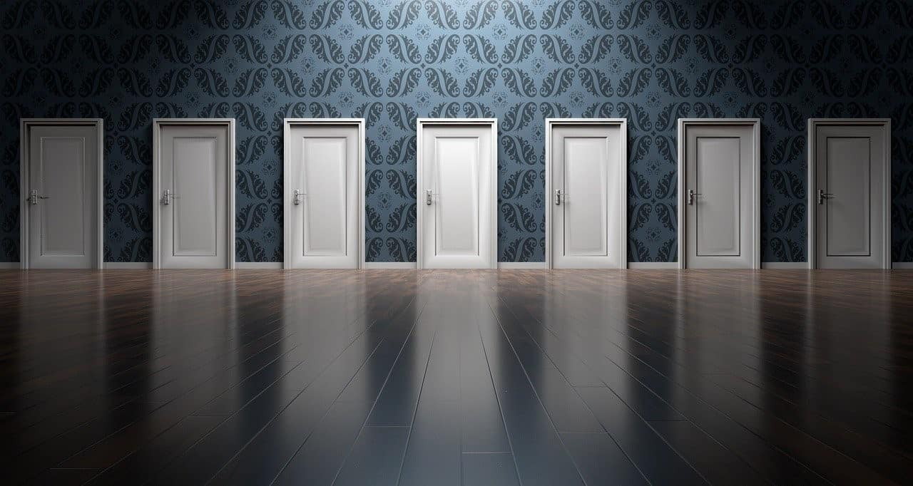 doors white