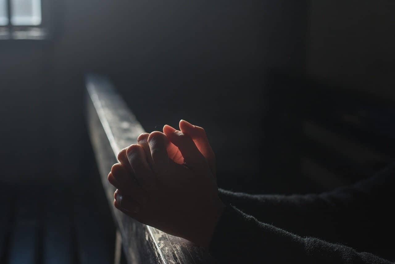 praying person