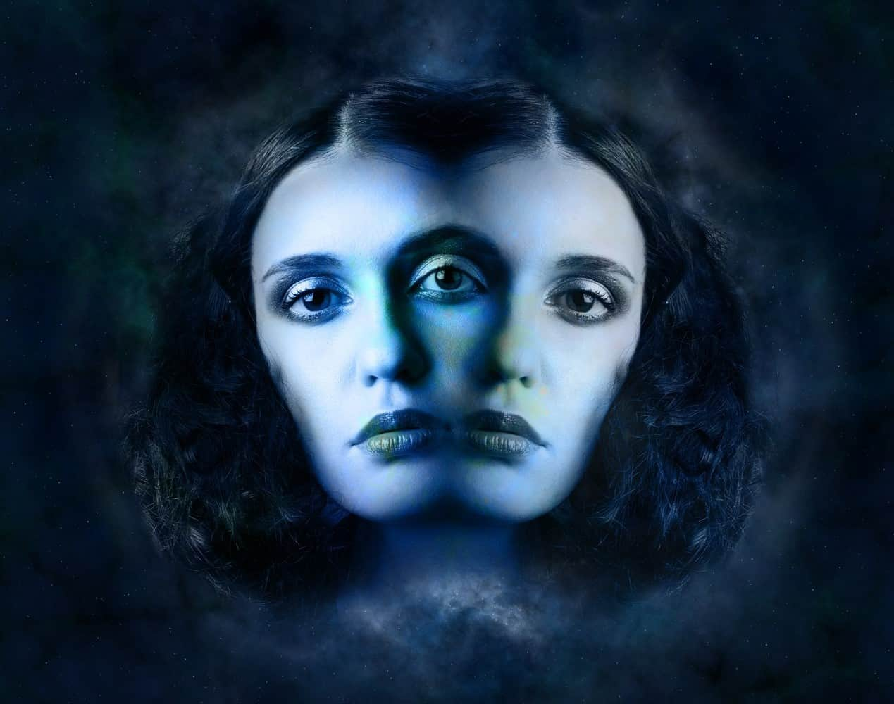 woman reflection