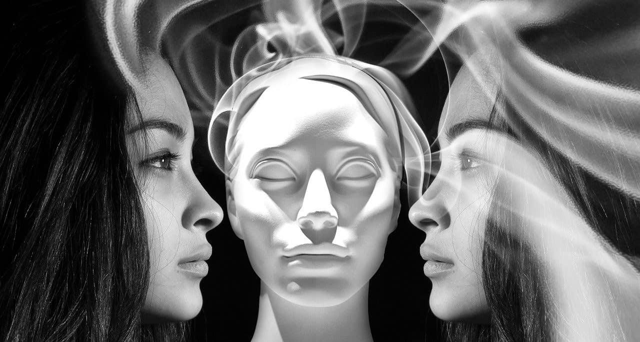smoke women illustration
