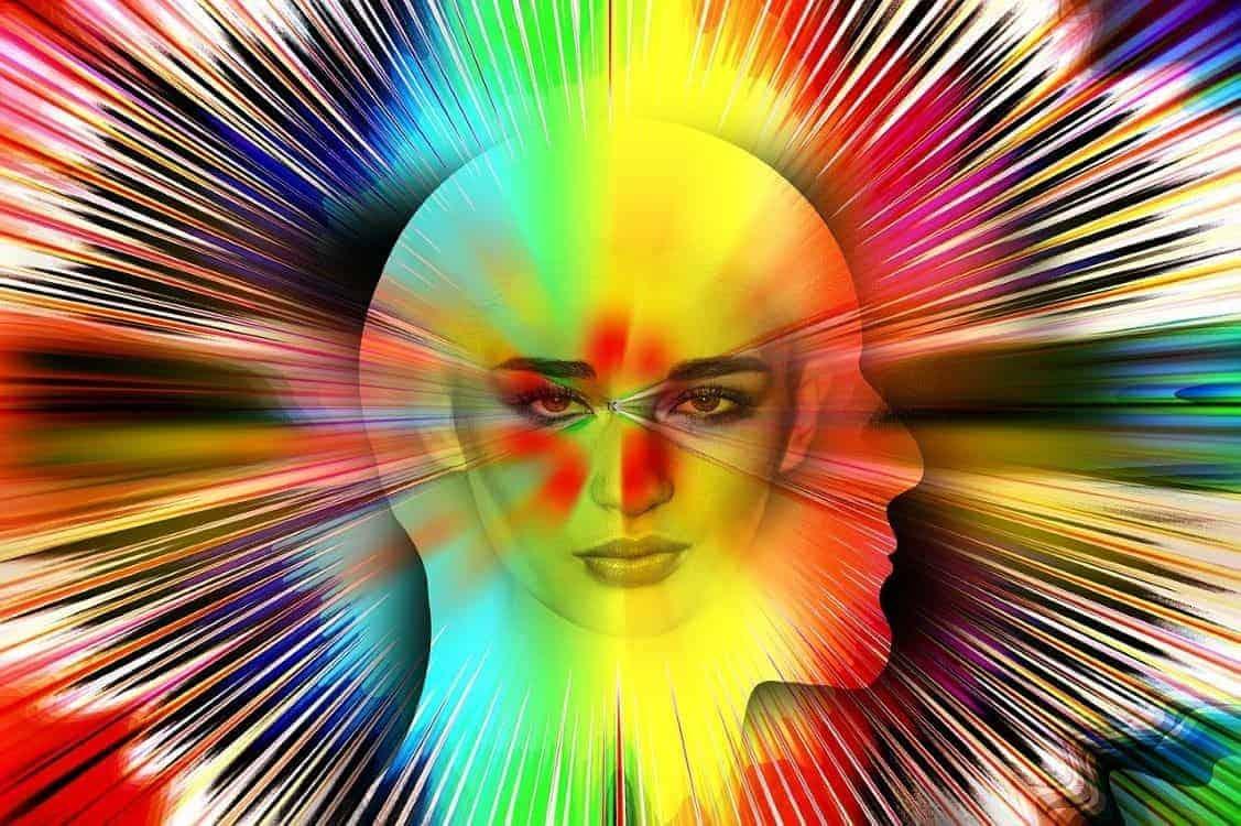 auras connection woman
