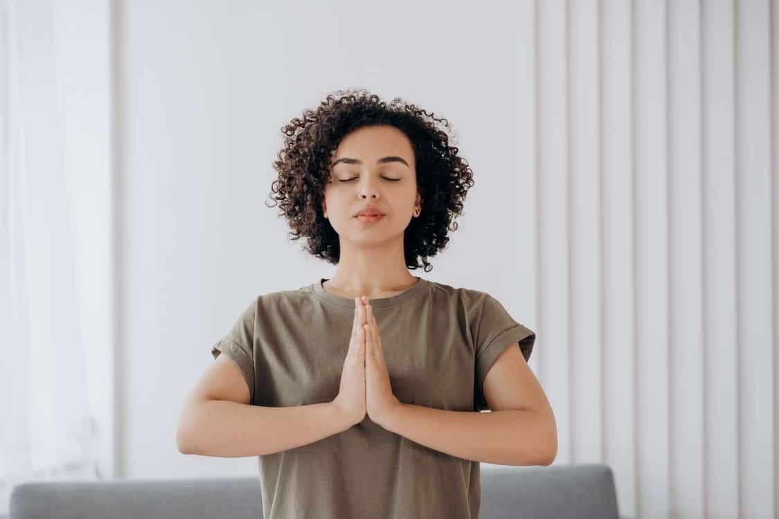 woman balance spirituality