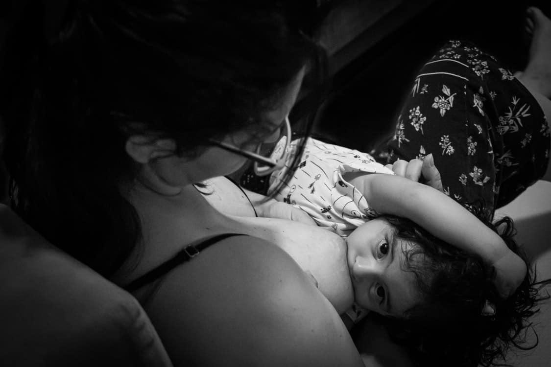 breastfeeding baby boy