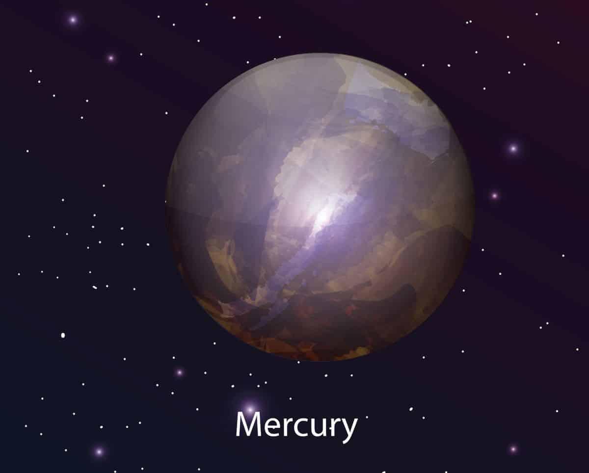 mercury planet space