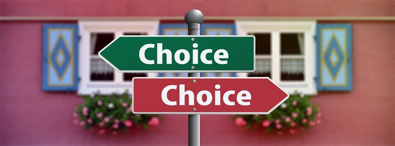 signs choices