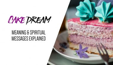 Cake Dream Meaning & Spiritual Messages Explained