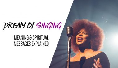 Dream of Singing Meaning & Spiritual Messages Explained