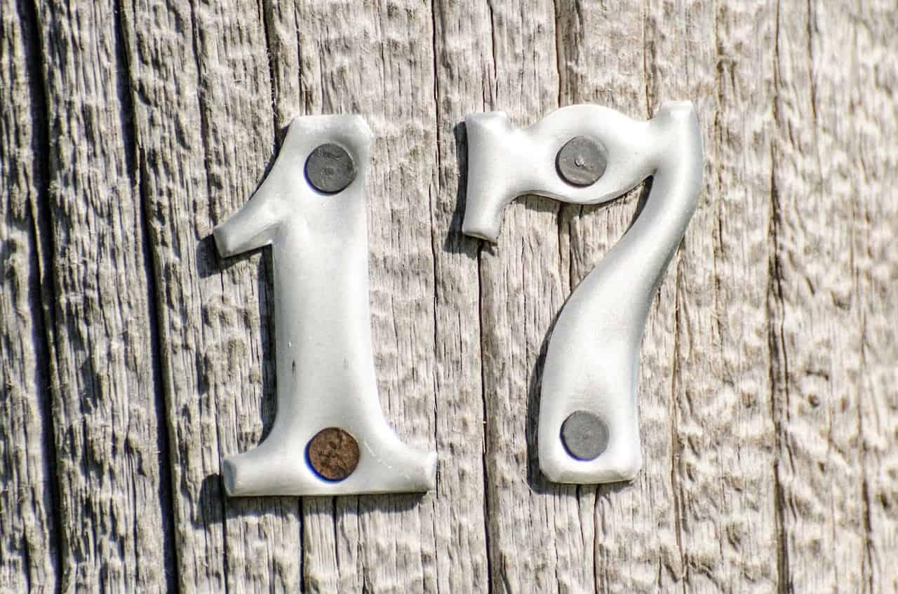 number seventeen