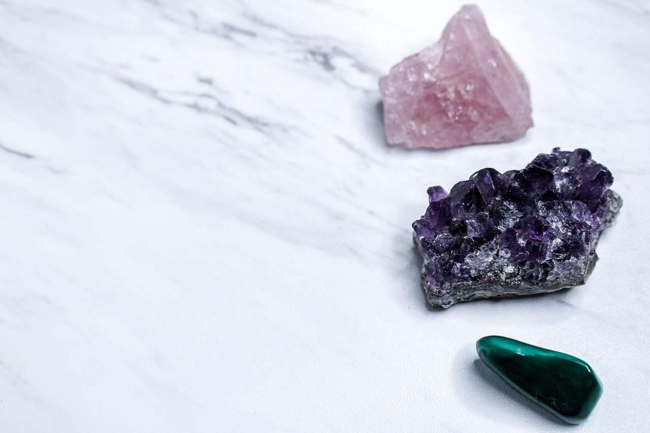 rose quartz other stones
